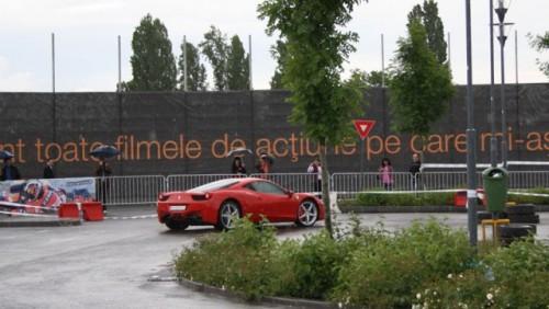 Galerie Foto: Fisichella a facut o demonstratie cu Ferrari 458 Italia in Romania25370