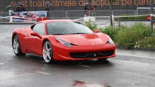 Galerie Foto: Fisichella a facut o demonstratie cu Ferrari 458 Italia in Romania25377