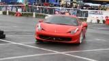 Galerie Foto: Fisichella a facut o demonstratie cu Ferrari 458 Italia in Romania25378