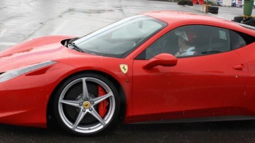 Galerie Foto: Fisichella a facut o demonstratie cu Ferrari 458 Italia in Romania25379