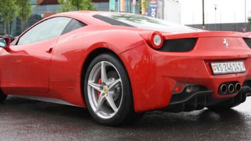 Galerie Foto: Fisichella a facut o demonstratie cu Ferrari 458 Italia in Romania25381