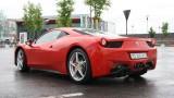 Galerie Foto: Fisichella a facut o demonstratie cu Ferrari 458 Italia in Romania25382