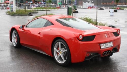 Galerie Foto: Fisichella a facut o demonstratie cu Ferrari 458 Italia in Romania25384