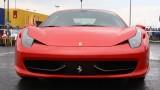 Galerie Foto: Fisichella a facut o demonstratie cu Ferrari 458 Italia in Romania25388