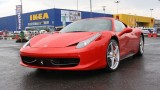 Galerie Foto: Fisichella a facut o demonstratie cu Ferrari 458 Italia in Romania25390