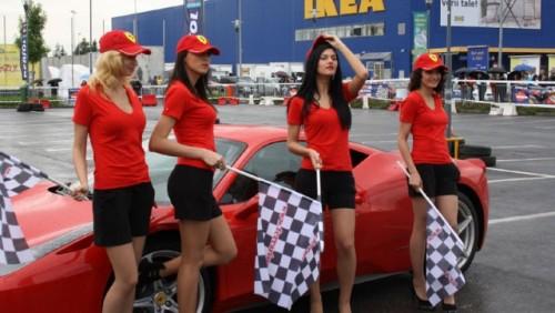 Galerie Foto: Fisichella a facut o demonstratie cu Ferrari 458 Italia in Romania25395