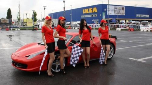 Galerie Foto: Fisichella a facut o demonstratie cu Ferrari 458 Italia in Romania25398