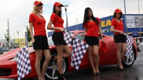 Galerie Foto: Fisichella a facut o demonstratie cu Ferrari 458 Italia in Romania25399