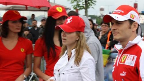 Galerie Foto: Fisichella a facut o demonstratie cu Ferrari 458 Italia in Romania25402