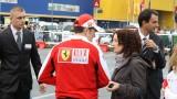 Galerie Foto: Fisichella a facut o demonstratie cu Ferrari 458 Italia in Romania25403