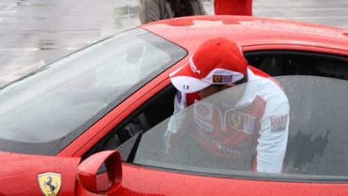 Galerie Foto: Fisichella a facut o demonstratie cu Ferrari 458 Italia in Romania25404