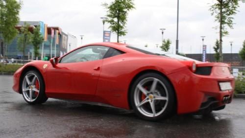 Galerie Foto: Fisichella a facut o demonstratie cu Ferrari 458 Italia in Romania25405