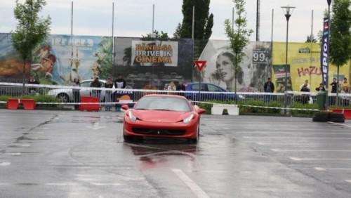 Galerie Foto: Fisichella a facut o demonstratie cu Ferrari 458 Italia in Romania25407