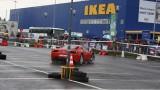 Galerie Foto: Fisichella a facut o demonstratie cu Ferrari 458 Italia in Romania25352
