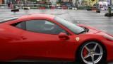 Galerie Foto: Fisichella a facut o demonstratie cu Ferrari 458 Italia in Romania25361