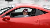 Galerie Foto: Fisichella a facut o demonstratie cu Ferrari 458 Italia in Romania25380