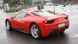 Galerie Foto: Fisichella a facut o demonstratie cu Ferrari 458 Italia in Romania25383