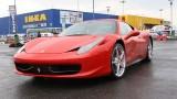 Galerie Foto: Fisichella a facut o demonstratie cu Ferrari 458 Italia in Romania25391