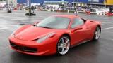 Galerie Foto: Fisichella a facut o demonstratie cu Ferrari 458 Italia in Romania25392