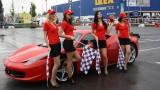 Galerie Foto: Fisichella a facut o demonstratie cu Ferrari 458 Italia in Romania25397