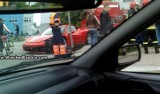 Primul accident cu Ferrari 458 Italia25295