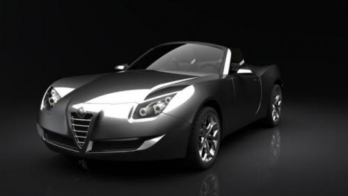 Studiu de design: Alfa Romeo Spider25240