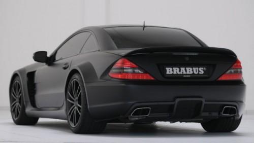 Brabus a tunat modelul Mercedes SL65 AMG Black25200