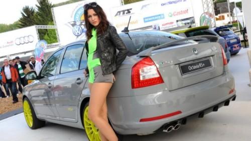 Modelele Skoda Octavia si Fabia RS+ au fost prezentate la Worthersee25130