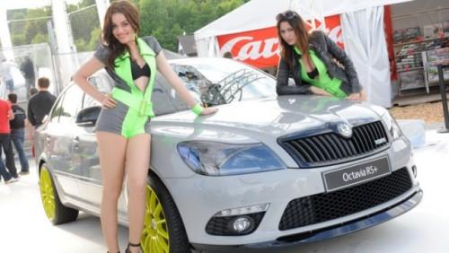 Modelele Skoda Octavia si Fabia RS+ au fost prezentate la Worthersee25131