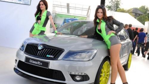 Modelele Skoda Octavia si Fabia RS+ au fost prezentate la Worthersee25132