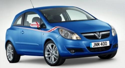Vauxhall Corsa, dedicat nationalei Angliei pentru Campionatul Mondial de Fotbal25098