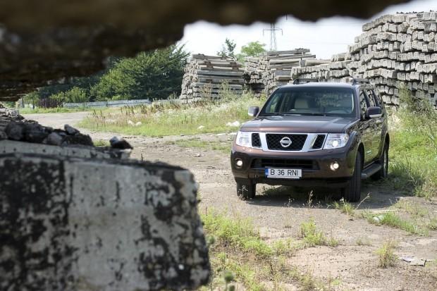 Nissan Pathfinder facelift