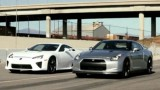 VIDEO: Lexus LF-A vs. Nissan GT-R24707