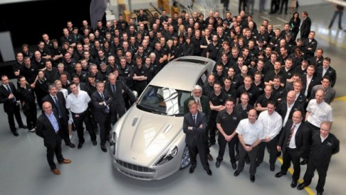Primul Aston Martin Rapide a fost produs in Austria24664