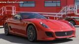 VIDEO: Cel mai bun sofer de teste Ferrari conduce noul Ferrari 599 GTO24628
