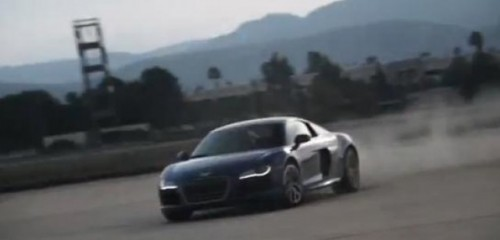 VIDEO: Un nou clip senzational cu Audi R8 V1024553