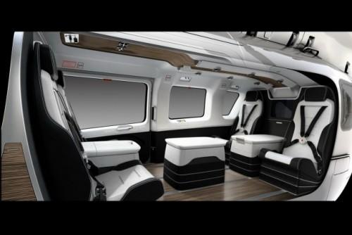 Design Mercedes pentru cockpit-ul unuiinterior de elicopter24550