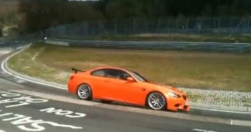 VIDEO: BMW M3 GTS pe circuitul de la Nurburgring24498