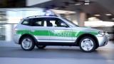 Politia bavareza testeaza un prototip BMW X324456