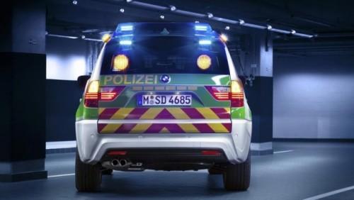 Politia bavareza testeaza un prototip BMW X324457