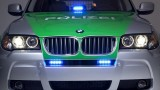 Politia bavareza testeaza un prototip BMW X324459