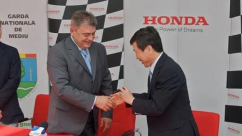 Parteriat intre Honda Romania si Garda de Mediu24405