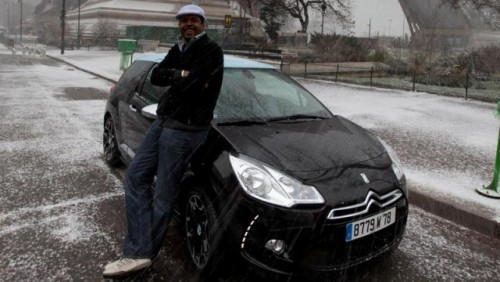 Cabral a testat noul Citroen DS3 in Paris24261