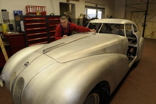 BMW a reconstruit modelul istoric 328 Kamm Coupe24193