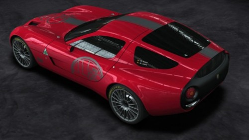 Alfa Romeo TZ3 Corsa a fost prezentata la Villa D'Este24055