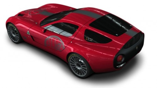 Alfa Romeo TZ3 Corsa a fost prezentata la Villa D'Este24062