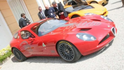 Alfa Romeo TZ3 Corsa a fost prezentata la Villa D'Este24067