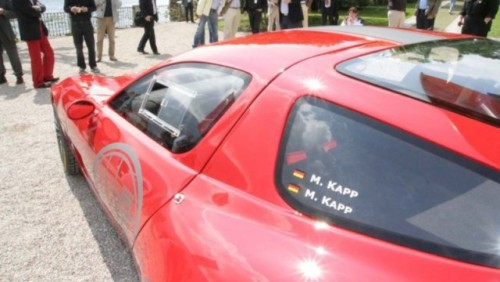 Alfa Romeo TZ3 Corsa a fost prezentata la Villa D'Este24069