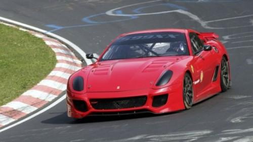 Ferrari 599XX a inregistrat un nou record de viteza la Nurburgring24023