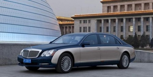 Maybach prezinta versiunile facelift ale modelelor 57 si 6223928